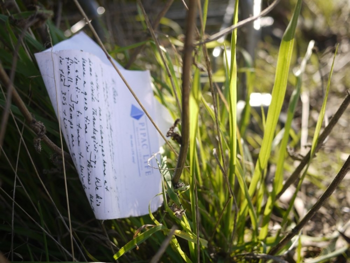 note perdue / lost note
